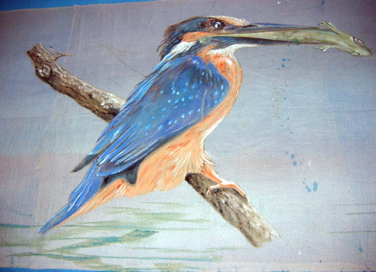 toile peinte-Festival d'Orleans