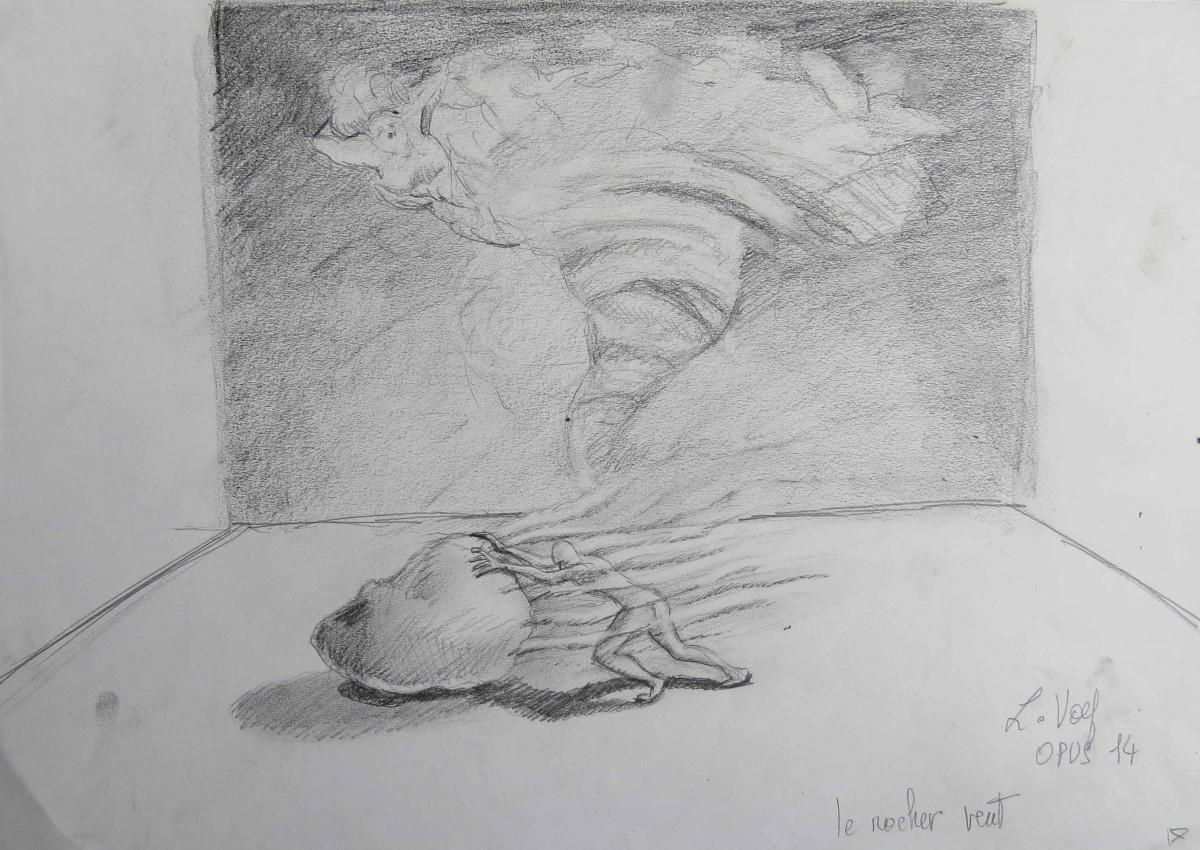 dessin original de Ludmila Volf